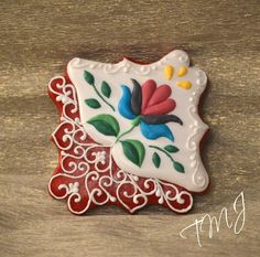 Embroidery pattern from Buzsák by TMJcreative