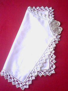 Handkerchief Bride. Handmade crochet lace. by sincreartDesign