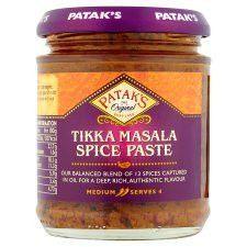 Patak's Tikka Masala Spice Paste 165g
