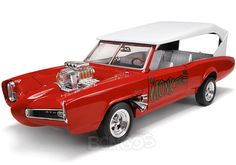 ''Monkee Mobile'' Movie/TV Car 1:18 Scale - AutoWorld Diecast Model
