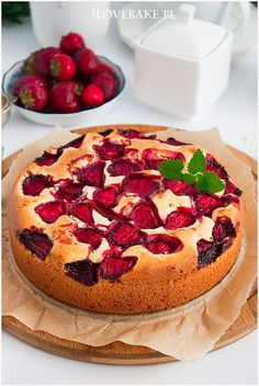 Berry, Food Cakes, Cake Recipes, Cheesecake, Food And Drink, Cooking Recipes, Sweet, Gastronomia, Breads