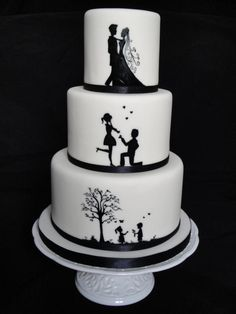 My first hand painted wedding cake! It has proved to be my most ordered wedding cake to date. Each order is painted to match the individual couples Beautiful Wedding Cakes, Beautiful Cakes, Amazing Cakes, Engagement Cake Design, Engagement Cakes, Valentines Day Cakes, Valentine Desserts, Pretty Cakes, Cute Cakes