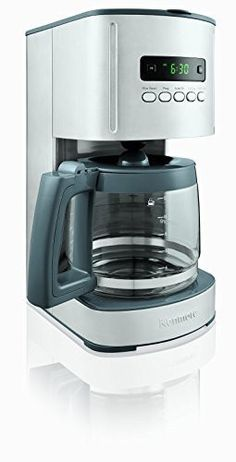12-Cup Programmable Aroma Control Coffee Maker
