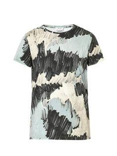 Standard Marker-print T-shirt   Acne Studios   MATCHESFASHION.COM