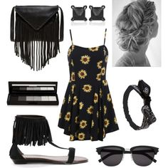 A fashion look from May 2015 featuring floral shift dresses, fringe shoes and leather fringe bag. Browse and shop related looks. Fringe Bags, Leather Fringe, Music Is Life, Polyvore Fashion, Yves Saint Laurent, Fashion Looks, Wet Seal, Stuff To Buy, Shopping