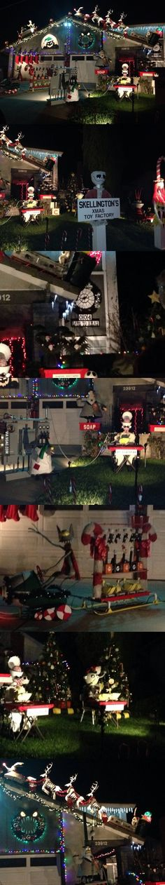 A different take at Christmas decorations. ---- I need to find this place