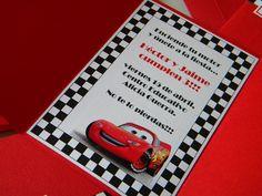 Invitaciones De Cumpleaños Cars Para Poner De Fondo 2 en HD Gratis