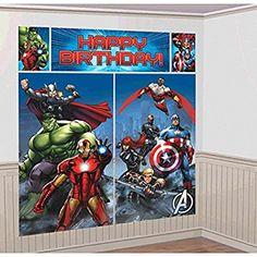 Amscan International Avengers Scene Setters Decoration Kit
