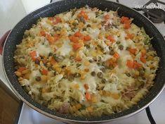 Zapekané cestoviny s brokolicou - recept   Varecha.sk Healthy Recipes, Healthy Food, Macaroni And Cheese, Ethnic Recipes, Lasagna, Healthy Foods, Mac And Cheese, Healthy Eating Recipes, Healthy Eating