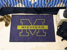 University of Michigan Wolverines Starter Mat by Fanmats! $25.00