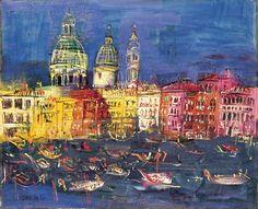 Jean Dufy - Venice