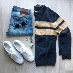 pulls for men inspiration grid style outfits mens outfit men's fashion style inspiration casual style Best Smart Casual Outfits, Smart Casual Men, Stylish Mens Outfits, Stylish Clothes, Men Clothes, Daily Fashion, Mens Fashion, Fashion Outfits, Fashion Ideas