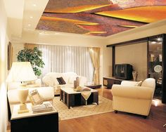 stretched ceiling printed image - Google Search