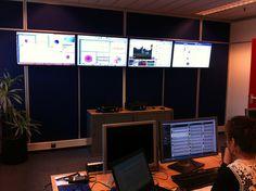 Social Media Hub at #rabobank by gijsbregt, via Flickr