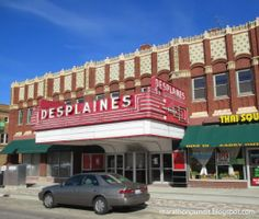 Closed in January, 2014 by the City of Des Plaines for code violations, the Des Plaines Theatre opened in the 1920s as a vaudeville house.