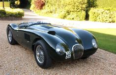 Jaguar C class replica!   i will have one, one day!! :)