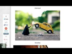 May the be with you (Kilkennycat) Tags: yellow vw canon bug volkswagen starwars funny force darthvader levitating kilkennycat ryanconners Photography Logos, Toys Photography, Creative Photography, Miniature Photography, Fotografia Macro, Star Wars Love, Photography Challenge, Star Wars Humor, Art For Art Sake