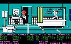 Maniac Mansion - I can not believe this was on here! Sarah and I loved this game!!