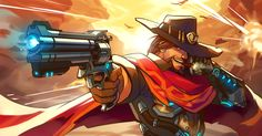 Overwatch_McCree by LifelessMech