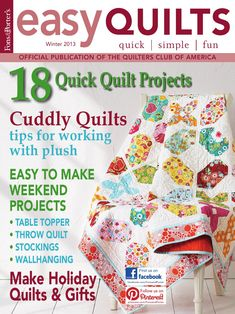 Easy Quilts Winter 2013 Digital Issue