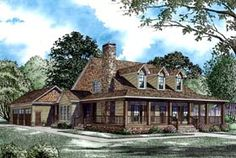 House Plan 62207 | Country   Farmhouse   Plan with 2173 Sq. Ft., 4 Bedrooms, 3 Bathrooms, 3 Car Garage