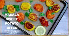 Masala Sweet Potato Bites (gluten and grain free, paleo) -