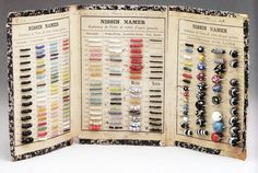 Old Venetian Sample card, typical of beads traded to Africa early 1920's and prior