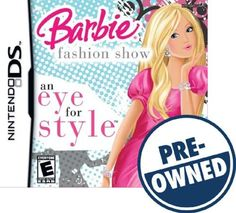 Barbie Fashion Show: An Eye for Style — PRE-Owned - Nintendo DS, 047875756892