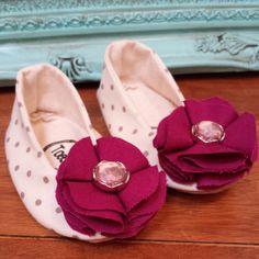 Baby Girl Booties  Handmade Summer Sandals by ToastyToesies, $25.00
