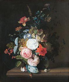 Jan van Huysum-Blumenstück.