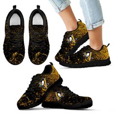 Light Tiny Pixel Smashing Pieces New Orleans Saints Sneakers – Best Funny Store Pittsburgh Pirates, Pittsburgh Penguins, Unique Shoes, Houston Texans, New Orleans Saints, Mesh Fabric, Snug Fit, All Black Sneakers, Lace Up