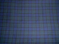Retro-Navy-Blue-Green-Tartan-Check-Cotton-Interiors-or-Dress-Fabric