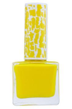 ROMWE   Nail Glam Flourecent-yellow Nail Polish, The Latest Street Fashion #ROMWEROCOCO