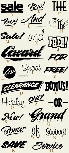 Letterhead Fonts / LHF Borges Catchwords 2 / Word Art