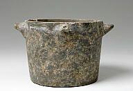 Bucket jar marble (dolomitic) Late Minoan I period (?) 16th-15th c. BC?