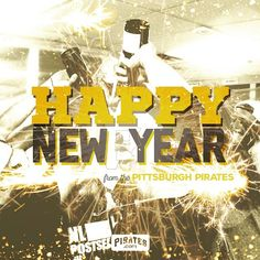 Happy New Year from your Pittsburgh Pirates! #BUCN2015 - pittsburghpirates's photo on Instagram