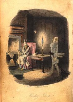 A Christmas Carol vintage illustrations