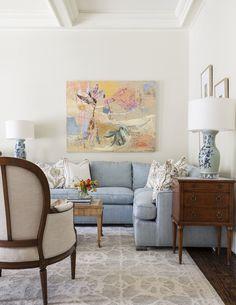 living room | Collins Interiors