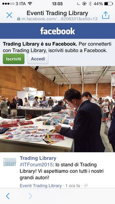 #ITForum2015 #CiclieMercati >>> acquista la nuova edizione di #MIB50000 presso lo stand di @tradinglibrary