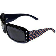 Auburn Tigers Ladies Rhinestone Sunglasses