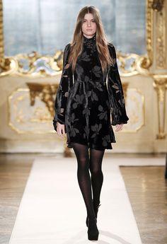 Blugirl Fall Winter 2014/2015 Fashion Show Collection #mfw