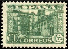 España año 1936 - Serie: Emblema de España. Tema: Universidades. Emisión: Sello Conmemorativo. Tema: Universidad de Salamanca.