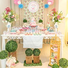 Baby Girl Shower Themes We Love: A Little Birdie Told Me (via Parents.com)