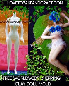 peoplemold polymerclayfiguremold fimowomanmold girlfiuremold howtomakeapolymerclayfigure CLAY DOLL MOLD DOLL MOLD FEMALE BODY MOLD PEOPLE MOLD FAIRY