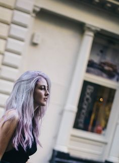 Suite Caroline Salon x Free People: Lavender Locks With Sparks Hair Color | Free People Blog #freepeople