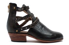 Trenza Cut-Out Boots | Moorea Seal $225