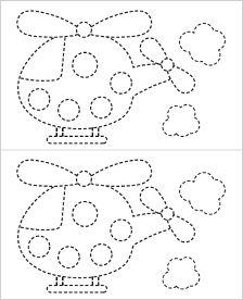fine motor tracing sheet download