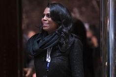 Journalist says Omarosa Manigault bullied her and mentioned a 'dossier' on her:  February 14, 2017  -      Omarosa Manigault last month at Trump Tower before she was appointed a White House communications official.