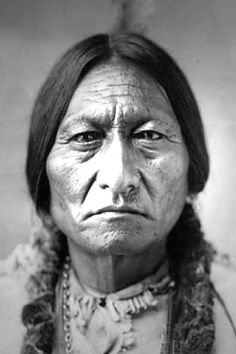 Sitting Bull- born in the Dakota territory. A real native american advocate.