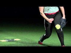 Softball Power Drive - mechanics in slow motion 1000 frame per second